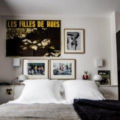 Отель Le Pigalle 4* Номер Pigalle 17 с различными типами кроватей фото 3