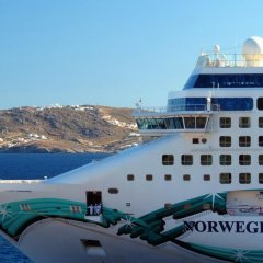 Гостиница Norwegian Jade Cruise Ship вид на фасад