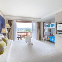 Отель Novotel Phuket Resort 4* Стандартный семейный номер с различными типами кроватей