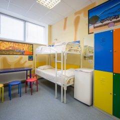 Хостел Аква Кровать в общем номере фото 3