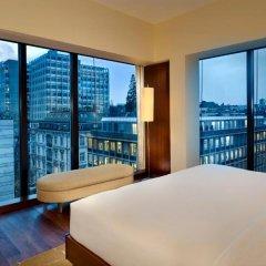 Отель Park Hyatt Zurich 5* Угловой люкс Park с различными типами кроватей