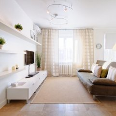 Гостиница KvartiraSvobodna Tverskaya комната для гостей фото 27