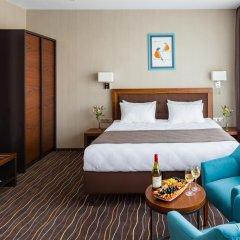 Гостиница Taurus City Львов комната для гостей фото 2