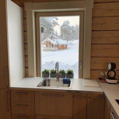 База Отдыха Forrest Lodge Karelia Улучшенный шале с разными типами кроватей фото 28