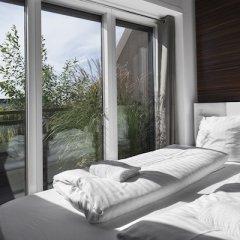 Отель Steel House Copenhagen Стандартный номер с различными типами кроватей (общая ванная комната)
