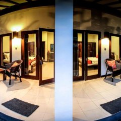 Отель Bale Sampan Bungalows балкон