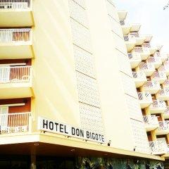 Hotel Don Bigote вид на фасад фото 2