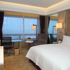 Boyue Shanghai Hongqiao Airport Hotel комната для гостей фото 2