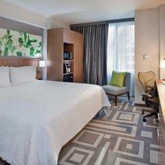 Отель Hilton Garden Inn New York/Central Park South-Midtown West 3* Люкс с двуспальной кроватью