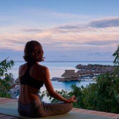Отель Conrad Bora Bora Nui фитнесс-зал