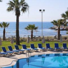 Golden Tulip Golden Bay Beach Hotel Ларнака пляж фото 2