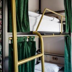 Хостел Strawberry Duck Moscow Кровать в общем номере с двухъярусной кроватью фото 4