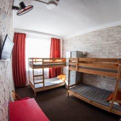 Хостел Хабаровск B&B Кровать в общем номере с двухъярусной кроватью фото 19