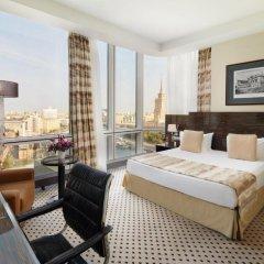 Гостиница Crowne Plaza Moscow World Trade Centre 5* Клубный номер с различными типами кроватей фото 4