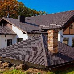 Гостиница Лесная Усадьба вид на фасад фото 2