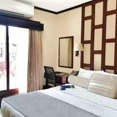 Отель Radisson Blu Resort, Sharjah 5* Улучшенный номер с различными типами кроватей фото 3