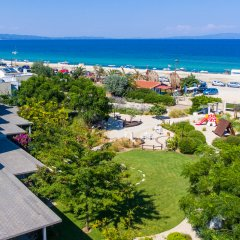 Отель Ammouda Villas пляж
