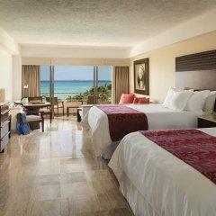 Отель Grand Fiesta Americana Coral Beach Cancun 5* Полулюкс Ocean front с различными типами кроватей фото 2