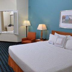 Отель Fairfield Inn & Suites Effingham комната для гостей фото 3
