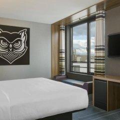 Отель Aloft Brussels Schuman 3* Номер Savvy с различными типами кроватей фото 2