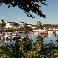 Отель Holmsbu Bad og Fjordl