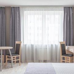 Гостиница Комплекс апартаментов Комфорт Улучшенная студия с различными типами кроватей фото 6