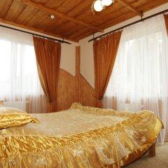 Гостиница Smerekovyi Dvir комната для гостей