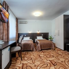 Гостиница Волга комната для гостей фото 3