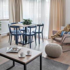 Апарт-отель City Nest 4* Апартаменты с различными типами кроватей фото 17