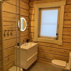 База Отдыха Forrest Lodge Karelia Улучшенный шале с разными типами кроватей фото 24
