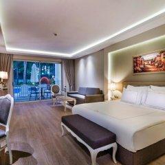 Bellis Deluxe Hotel 5* Домик Jasmine lake lagoon с различными типами кроватей