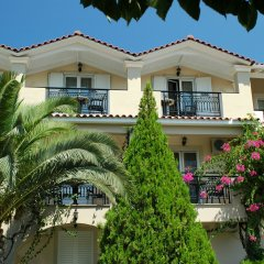 Отель Letsos Hotel Греция, Закинф - отзывы, цены и фото номеров - забронировать отель Letsos Hotel онлайн вид на фасад фото 3