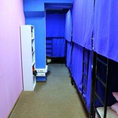 Moscow Hostel Travel Inn Кровать в общем номере с двухъярусной кроватью фото 8