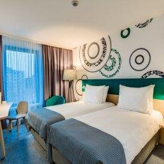 Отель Holiday Inn Warsaw City Centre 4* Стандартный номер с различными типами кроватей фото 4