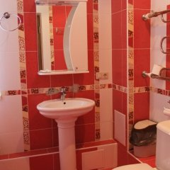 Гостиница Снежинка (Домбай) ванная фото 2