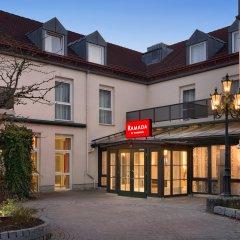 Отель Ramada by Wyndham München Airport Германия, Мюнхен - отзывы, цены и фото номеров - забронировать отель Ramada by Wyndham München Airport онлайн вид на фасад фото 2