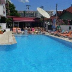 Kaan Apart Турция, Мармарис - отзывы, цены и фото номеров - забронировать отель Kaan Apart онлайн бассейн фото 3