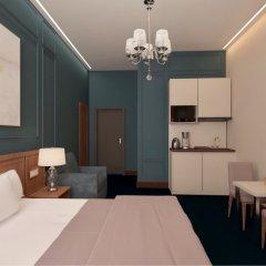 Гостиница Елисеевский 4* Номер Делюкс с двуспальной кроватью фото 3