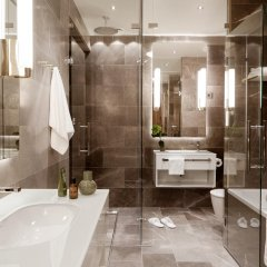 Отель St. George Helsinki Финляндия, Хельсинки - отзывы, цены и фото номеров - забронировать отель St. George Helsinki онлайн ванная