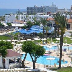Myroandrou Beach Hotel пляж фото 2