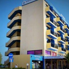 Отель Kapetanios Bay Hotel Кипр, Протарас - отзывы, цены и фото номеров - забронировать отель Kapetanios Bay Hotel онлайн вид на фасад