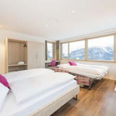 Отель Randolins Familienresort Швейцария, Санкт-Мориц - отзывы, цены и фото номеров - забронировать отель Randolins Familienresort онлайн комната для гостей фото 7