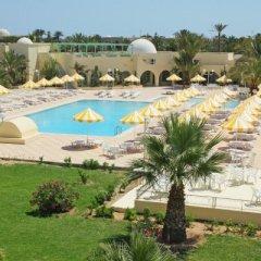 Отель Hôtel Venice Beach Djerba Тунис, Мидун - отзывы, цены и фото номеров - забронировать отель Hôtel Venice Beach Djerba онлайн бассейн фото 2