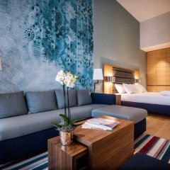 Отель Hyatt House Dusseldorf Andreas Quarter Стандартный номер с различными типами кроватей