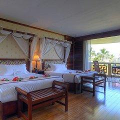 Отель InterContinental Resort Tahiti Французская Полинезия, Фааа - 1 отзыв об отеле, цены и фото номеров - забронировать отель InterContinental Resort Tahiti онлайн комната для гостей фото 18