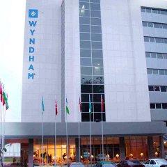 Отель Wyndham Tashkent вид на фасад фото 2