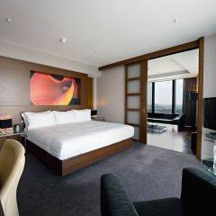 Отель Hilton Manchester Deansgate Манчестер комната для гостей фото 3