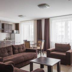 Гостиница Комплекс апартаментов Комфорт Улучшенные апартаменты с различными типами кроватей фото 24