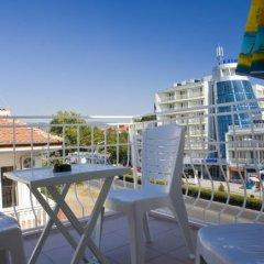 Отель Family Hotel Casa Brava Болгария, Солнечный берег - отзывы, цены и фото номеров - забронировать отель Family Hotel Casa Brava онлайн балкон фото 2