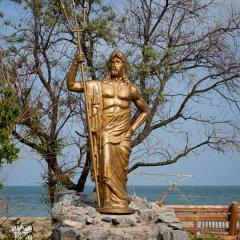 Отель Baza Otdyha Lotsman Бердянск приотельная территория